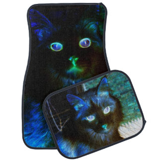 Glow In The Dark Cat Car Mats