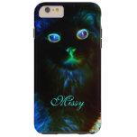 Glow In The Dark Cat iPhone 6 Plus Case