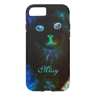 Glow In The Dark Cat iPhone 7 Case