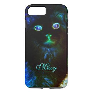 Glow In The Dark Cat iPhone 7 Plus Case