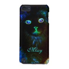 Glow In The Dark Cat Ipod Touch 5g Case at Zazzle