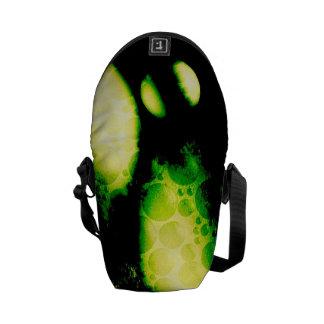 Glow in the Dark Like Creepy Orbs Courier Bag