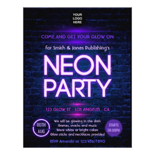Work Party Flyers Programs Zazzle