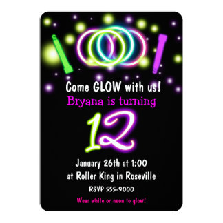 Girls 12th Birthday Party Invitations & Announcements   Zazzle