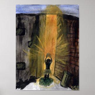 """""""Glow of Hope"""" Art Poster Print"""