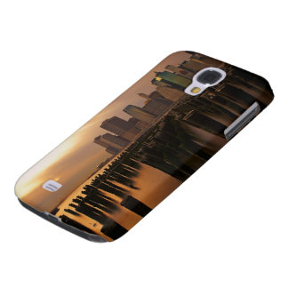 Glow of sunset during stormy skies over East Samsung Galaxy S4 Case