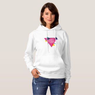 Glow Party Mom Neon Theme 80's Party Hoodie