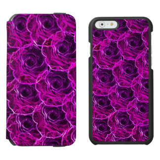 glow roses iPhone folio wallet case Incipio Watson™ iPhone 6 Wallet Case