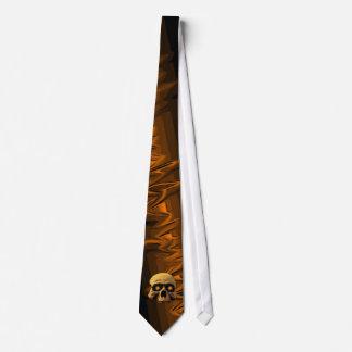 Glow Skull Black Tie