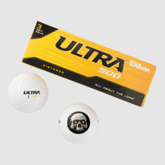 Glow Skull Golf Balls