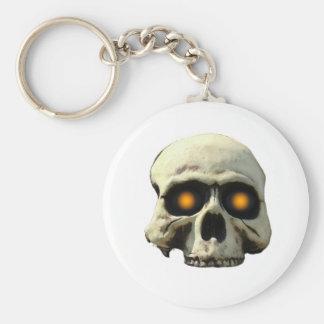 Glow Skull Keychain