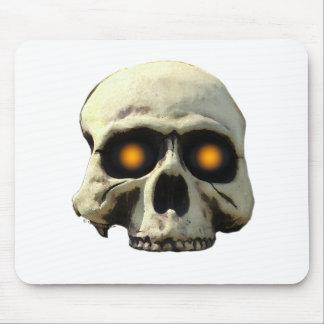Glow Skull Mousepad