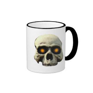 Glow Skull Ringer Coffee Mug