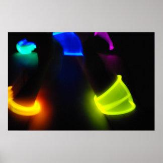 Glow Stick Fun Poster