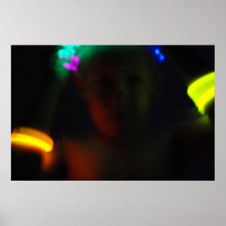 Glow Stick Fun Three Poster