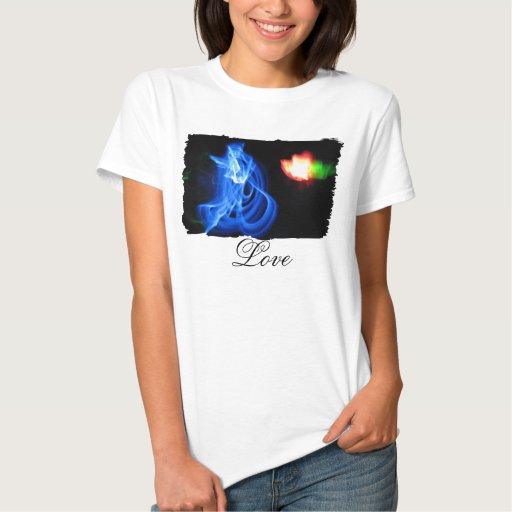 Glow Sticks Dancing in the Night; Sweet Nothings T-shirt