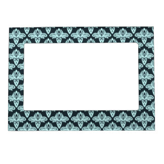 Glow style abstract pattern magnetic photo frame