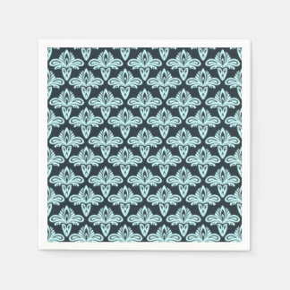 Glow style abstract pattern standard cocktail napkin