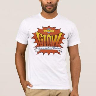 GLOW T-Shirt Orange Logo