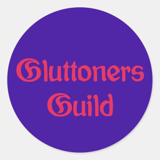 Glow toner Guild Classic Round Sticker
