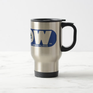 GLOW Travel Mug Blue Logo