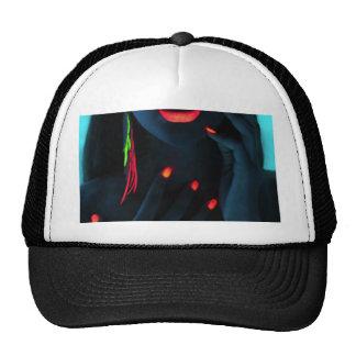 glow trucker hat