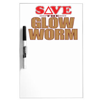 Glow Worm Save Dry-Erase Board
