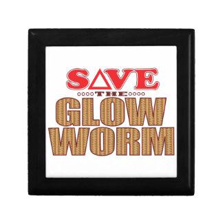 Glow Worm Save Jewelry Box