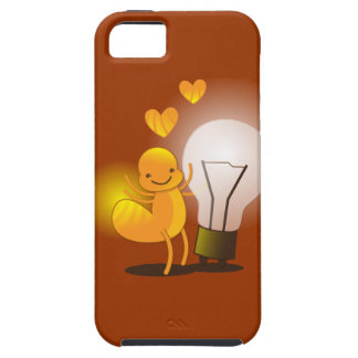 Glow Worm! with a light globe super cute! iPhone SE/5/5s Case