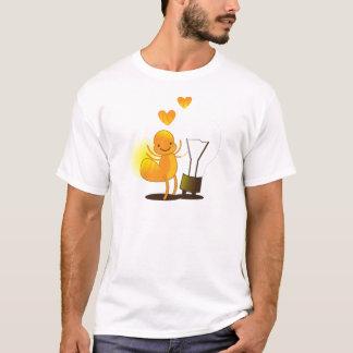 Glow Worm! with a light globe super cute! T-Shirt