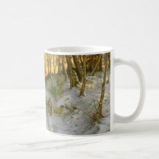 Glowed with Tints of Evening Hours Coffee Mug