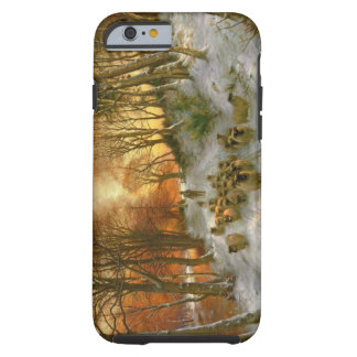 Glowed with Tints of Evening Hours iPhone 6 Case