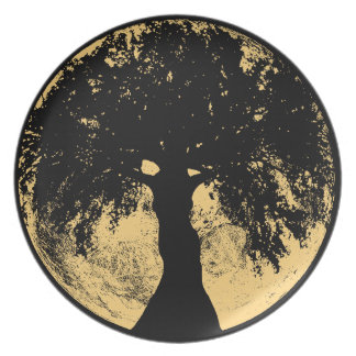 Glowees Moon Oak Goddess Plate