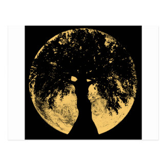 Glowees Moon Oak Goddess Postcard