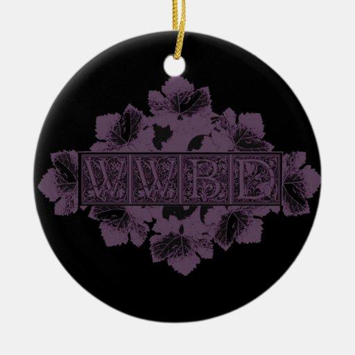 ¿Glowees qué Bacchus haría? Ornamento De Navidad