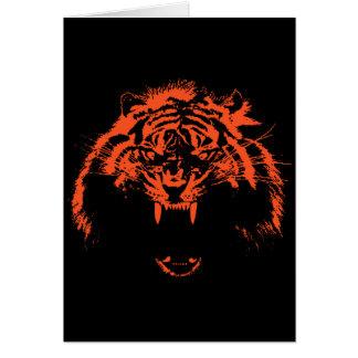 Glowees Tiger Card