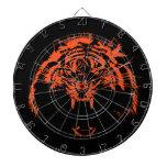 Glowees Tiger Dart Board