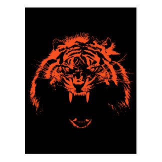 Glowees Tiger Post Cards