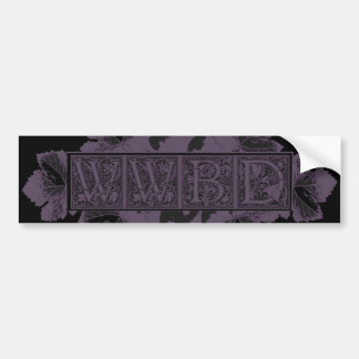 Glowees What Would Bacchus Do? Car Bumper Sticker