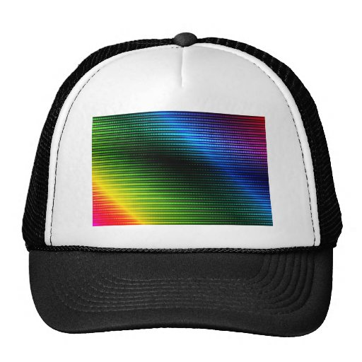 Glowing Abstract Background Trucker Hat