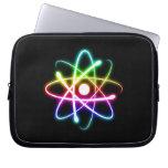 Glowing Atom Computer Sleeve