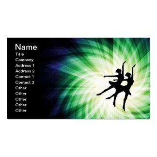 Glowing Ballerinas Business Card