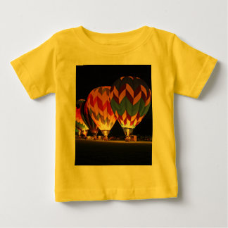 Glowing Balloons!  Light up the night! Baby T-Shirt
