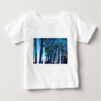 Glowing Bamboo in Tokyo, Japan. Baby T-Shirt