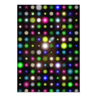 Glowing Bubbles Card
