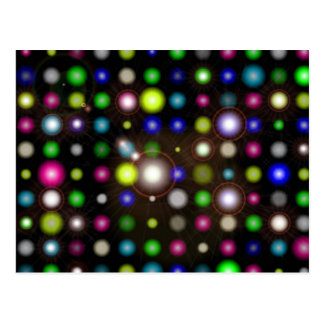 Glowing Bubbles Postcard