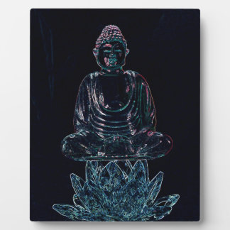 Glowing Buddha Plaque