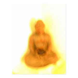 Glowing Buddha Postcard