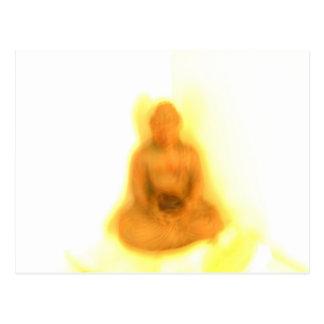 Glowing Buddha Postcards