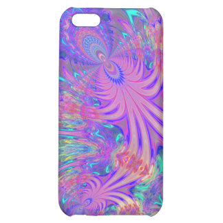 Glowing Burst of Color Case For iPhone 5C